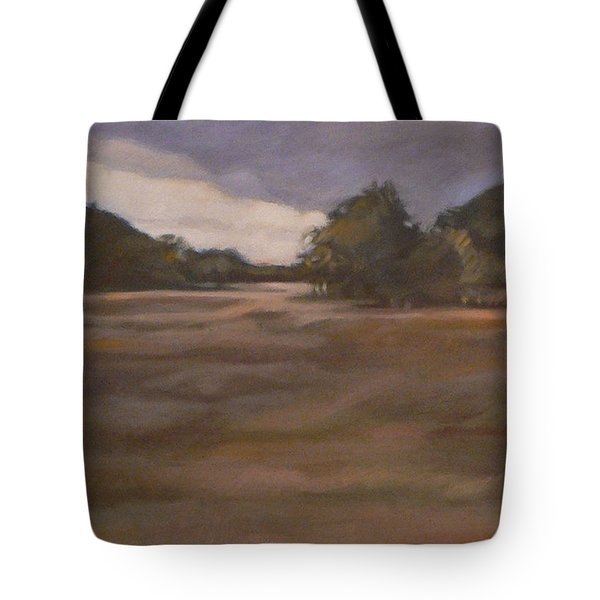 Clouds And Fields Tote Bag