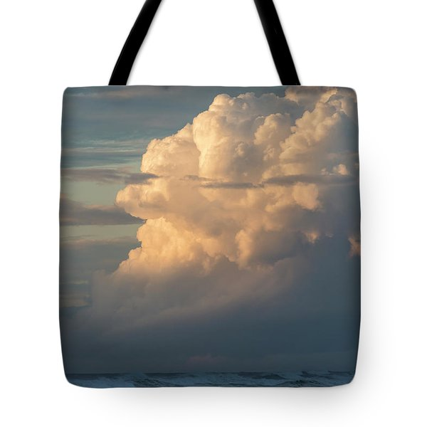 Clouds And Surf Tote Bag