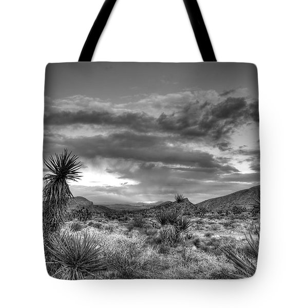 Clouds And Yucca Tote Bag