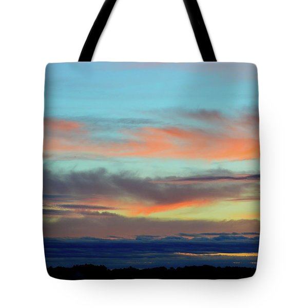 Clouds At Different Altitudes  Tote Bag