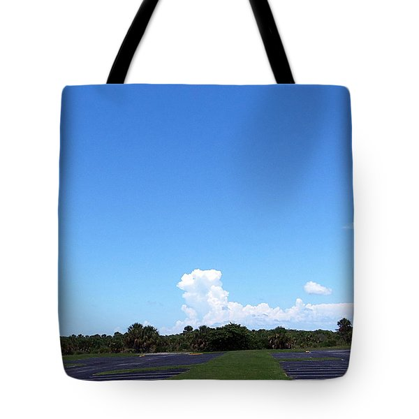 Tote Bag featuring the photograph Clouds At Honeymoon Island 000 by Chris Mercer