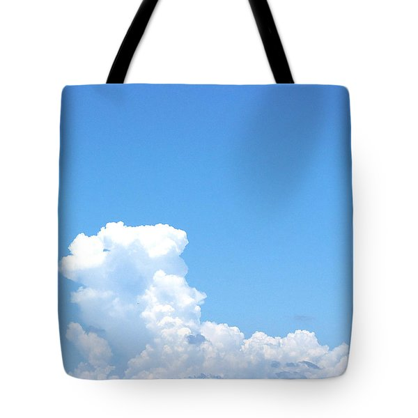 Tote Bag featuring the photograph Clouds At Honeymoon Island 001 by Chris Mercer