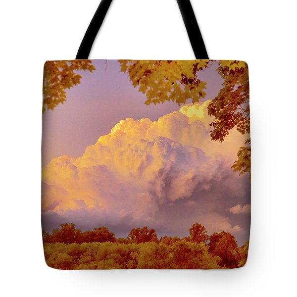 Clouds At Sunset, Southeastern Pennsylvania Tote Bag