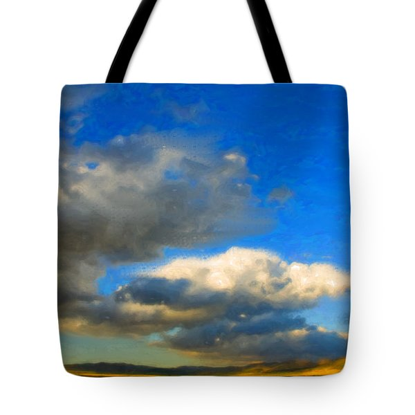 Clouds Tote Bag by Betty LaRue