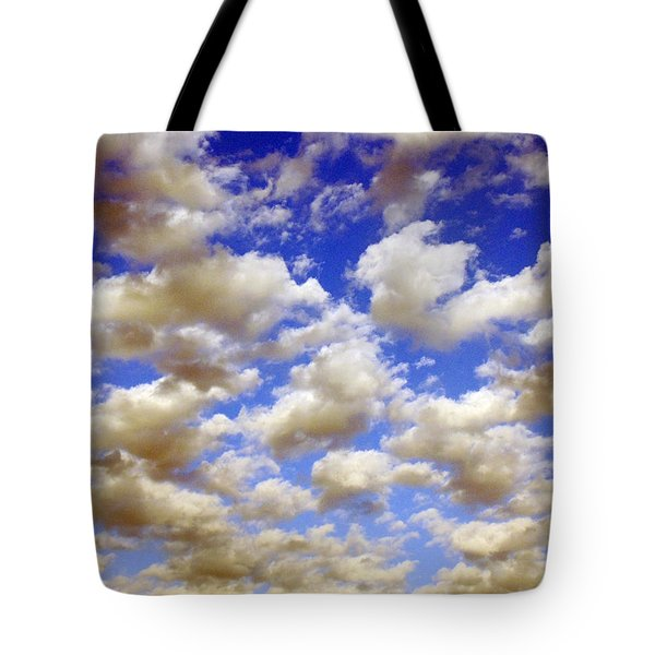 Clouds Blue Sky Tote Bag