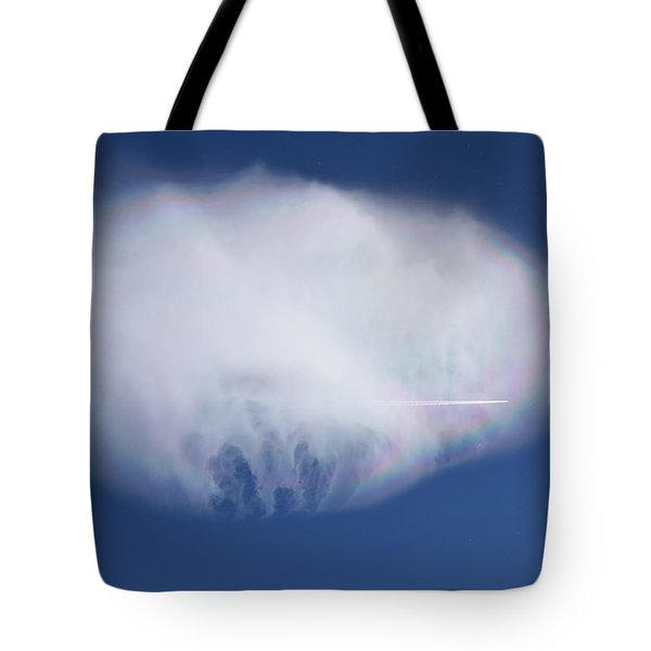 Tote Bag featuring the photograph Clouds From Home by Margarethe Binkley