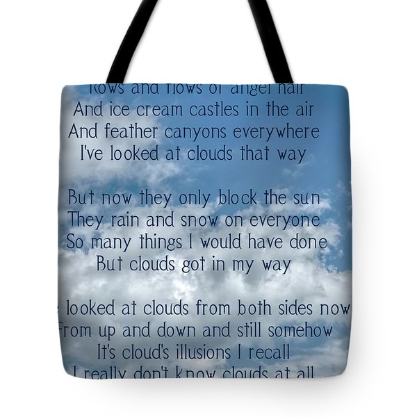 Clouds Illusions Tote Bag