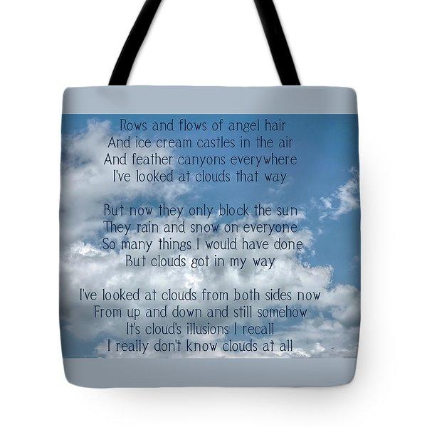 Clouds Illusions Tote Bag