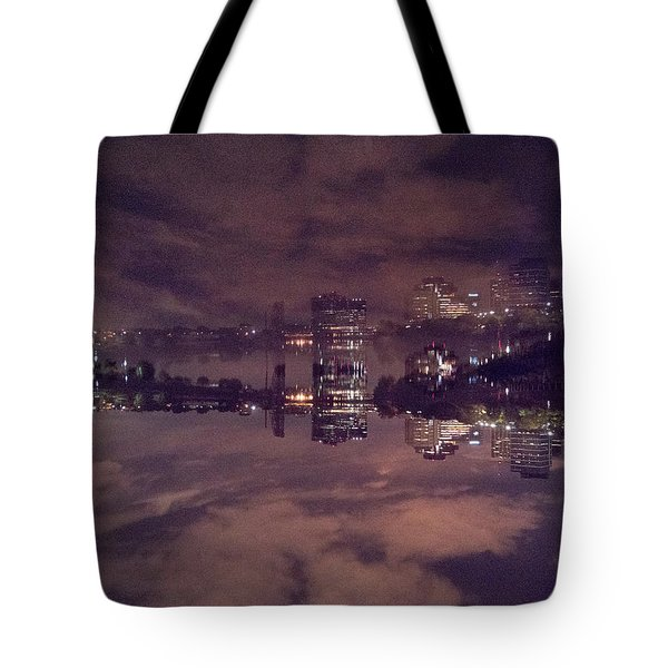 Clouds In The Passaic - Newark Nj Tote Bag