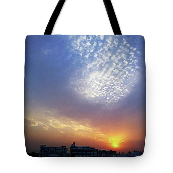 Clouds In The Sky Tote Bag