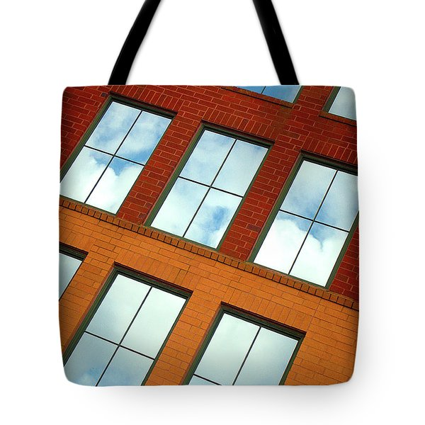 Clouds In The Windows Tote Bag