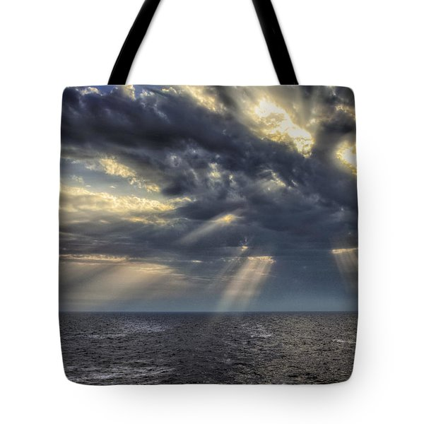 Tote Bag featuring the photograph Clouds by John Swartz