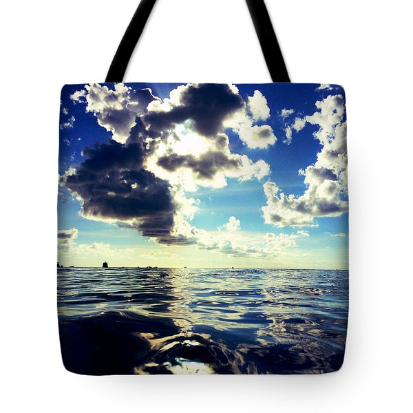 Clouds Tote Bag by Julita Pietrzyk