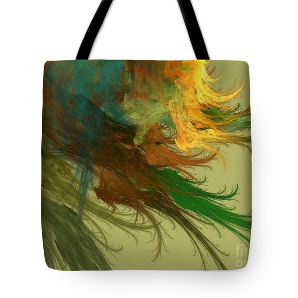 Clouds Of Color Tote Bag