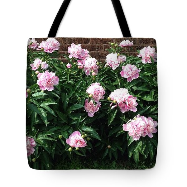 Clouds Of Peony Tote Bag
