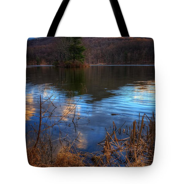 Clouds On Abbott Lake Tote Bag