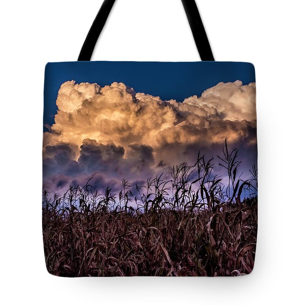 Clouds Over Fagagna Tote Bag