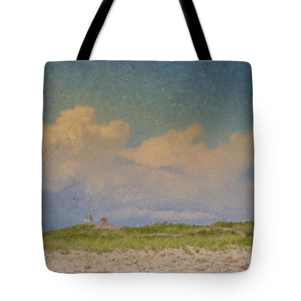 Clouds Over Goosewing Tote Bag