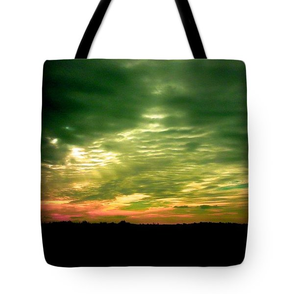 Clouds Over Ireland Tote Bag