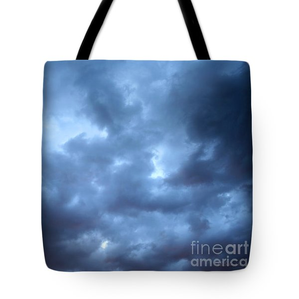 Clouds Over Kansas Tote Bag