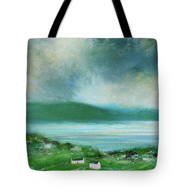 Clouds Over Malin Head, Donegal Tote Bag