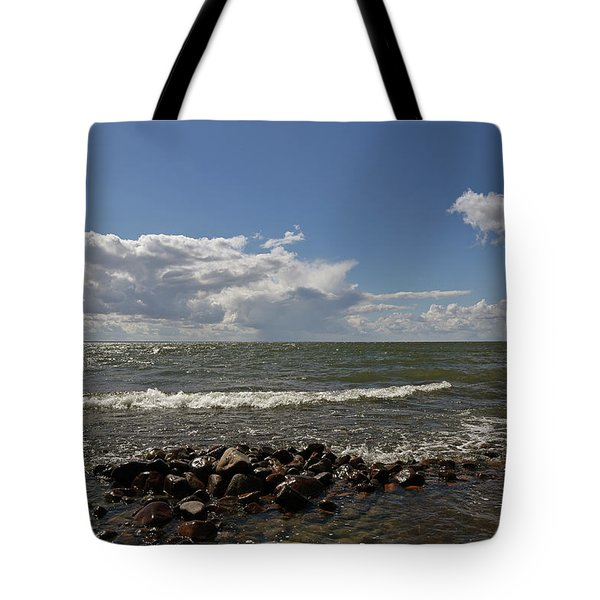 Clouds Over Sea Tote Bag