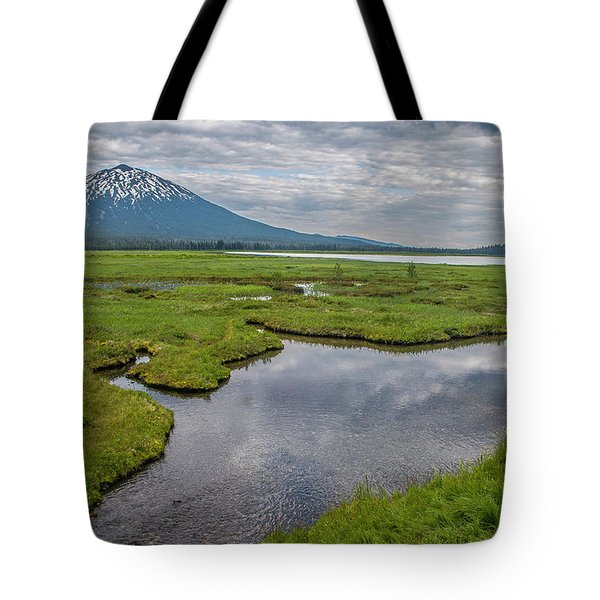 Clouds Over Sparks Tote Bag