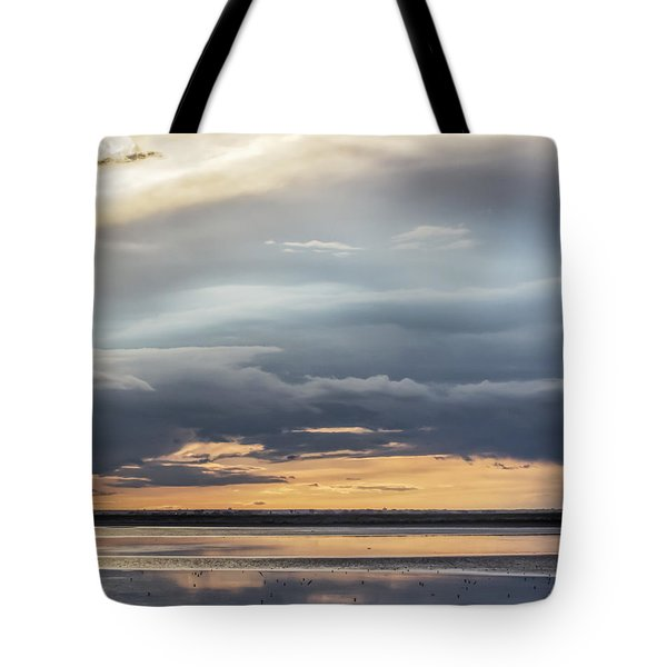 Tote Bag featuring the photograph Clouds Over The Bottoms by Rob Graham