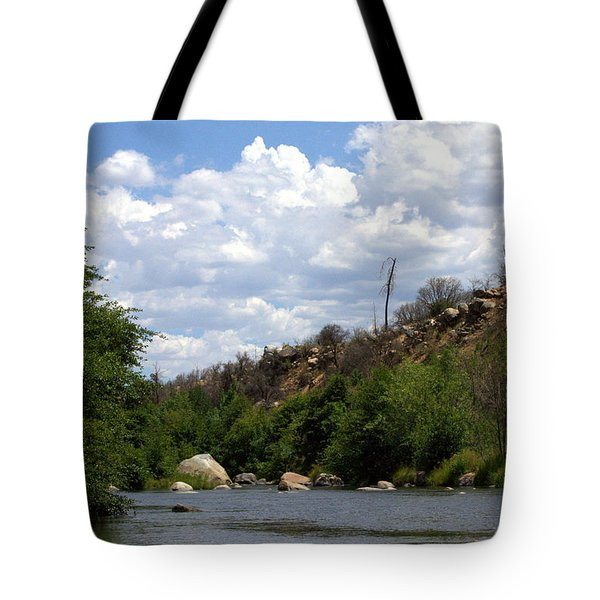 Clouds Over The Kern Tote Bag