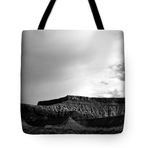 Clouds  Over The Mesa Tote Bag