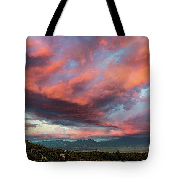 Clouds Over Warner Springs Tote Bag