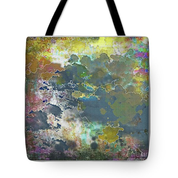 Clouds Over Water Tote Bag