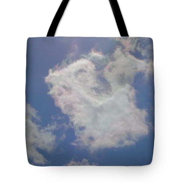 Clouds Rainbow Reflections Tote Bag