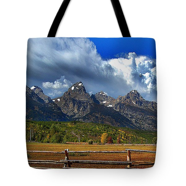 Clouds Rising Tote Bag by Diane E Berry