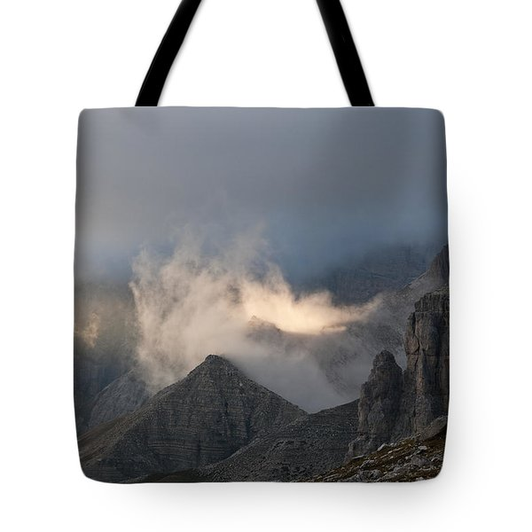 Clouds Sunset Tote Bag