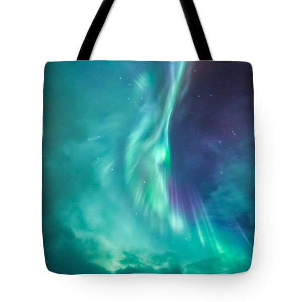 Clouds Vs Aurorae Tote Bag