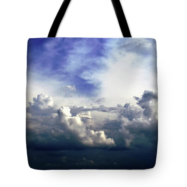 Tote Bag featuring the photograph Cloudscape Fourteen by Tom Druin