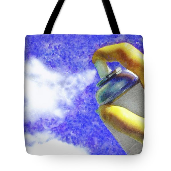 Cloudspreading - Da Tote Bag
