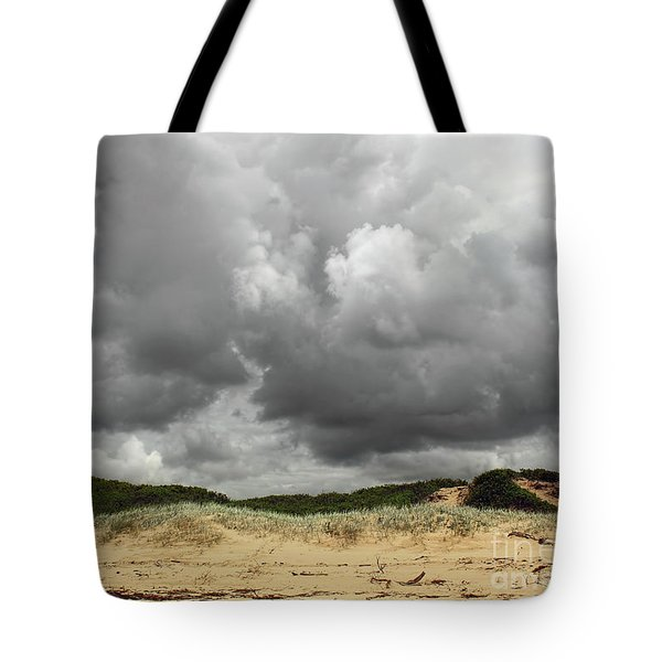 Tote Bag featuring the photograph Cloudy Beach II By Kaye Menner by Kaye Menner