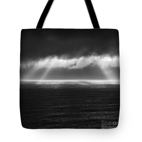 Cloudy Day At The Sae Tote Bag by Gunnar Orn Arnason
