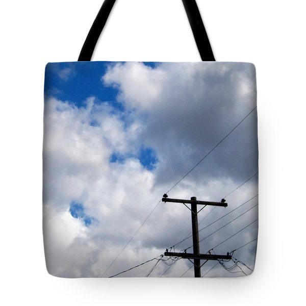 Cloudy Day Tote Bag by Patricia Strand