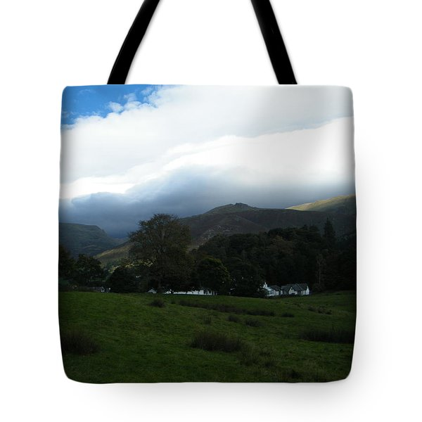 Cloudy Hills Tote Bag