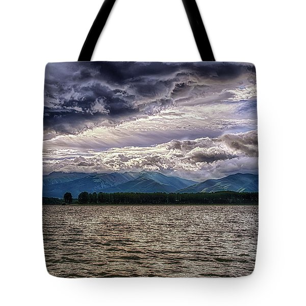Cloudy Tote Bag