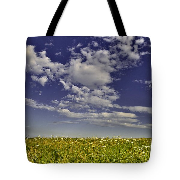 Cloudy Sky Tote Bag
