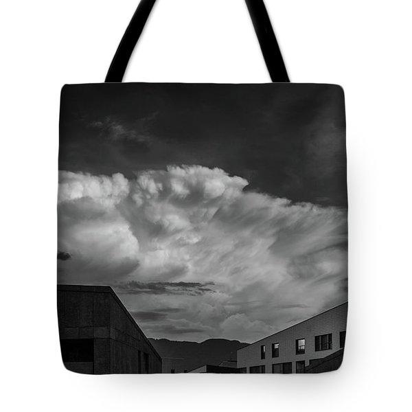 Cloudy Sky Over Bolzano Tote Bag