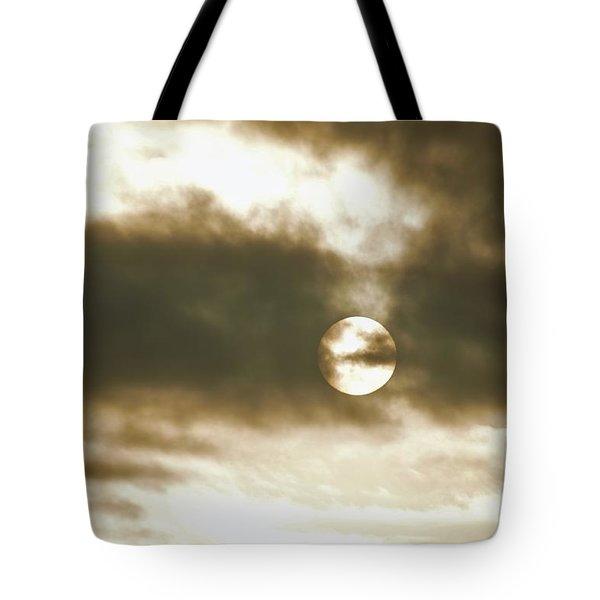 Cloudy Sun Tote Bag