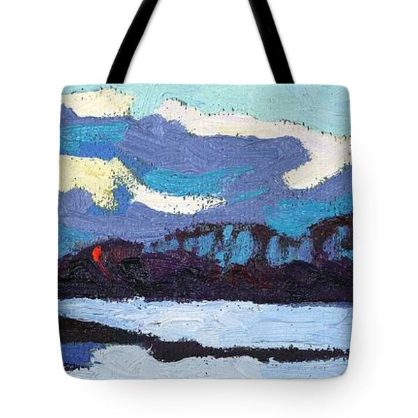 Cloudy Sunset Tote Bag by Phil Chadwick