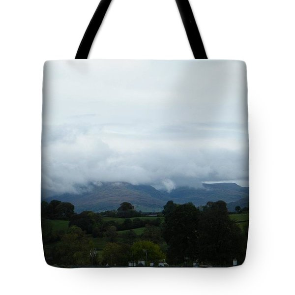 Cloudy View Tote Bag