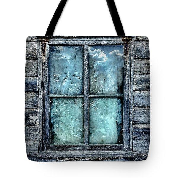 Cloudy Window Tote Bag