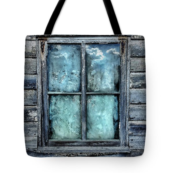 Cloudy Window Tote Bag